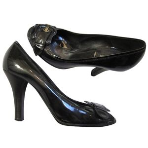 Fendi patent pumps